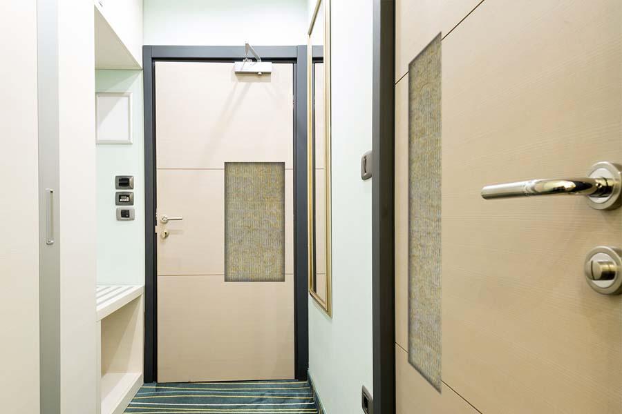 Porte tagliafuoco in legno EI 30 - EI 60