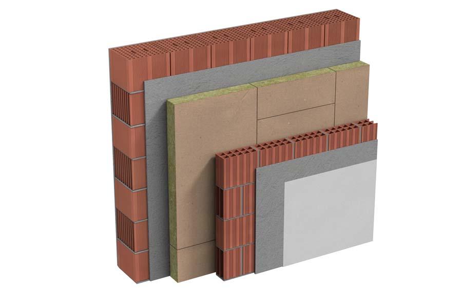 Pareti perimetrali in muratura
