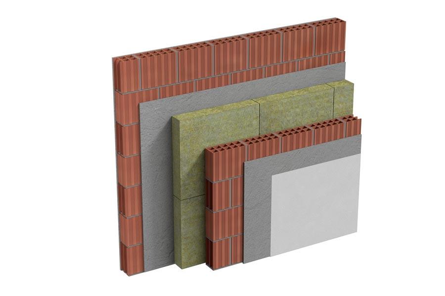 Pareti divisorie in muratura