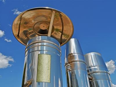 CHM S FLOCKS: la nuova tecnologia per l'isolamento delle canne fumarie in acciaio alla conquista dell'Europa